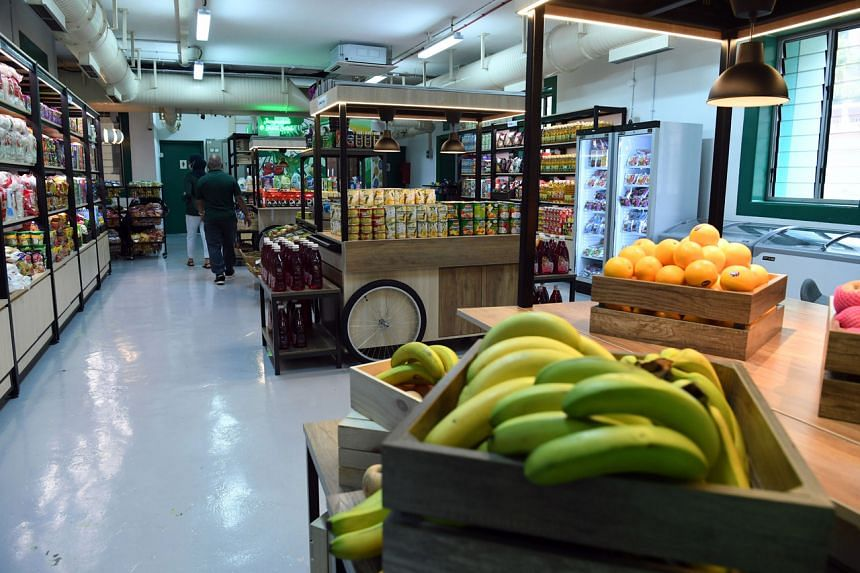 Beneficiaries will be provided with $50 in credits every month to spend at the minimart.