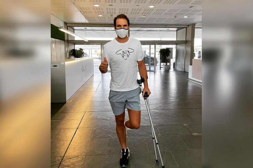 Rafael Nadal was diagnosed with the foot problem in 2005.