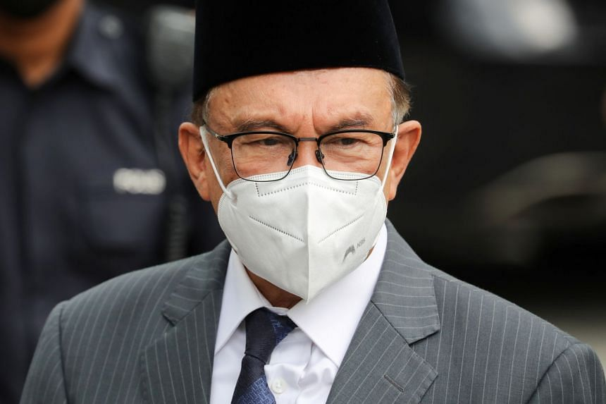 Opposition Leader Anwar Ibrahim (above) said he welcomed the parliamentary reform initiatives proposed by the PM.