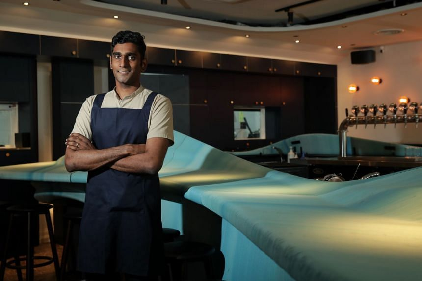 Mr Vijay Mudaliar, 32, went ahead with opening his sustainability-focused cocktail bar Analogue despite Singapore's Covid-19 restrictions.