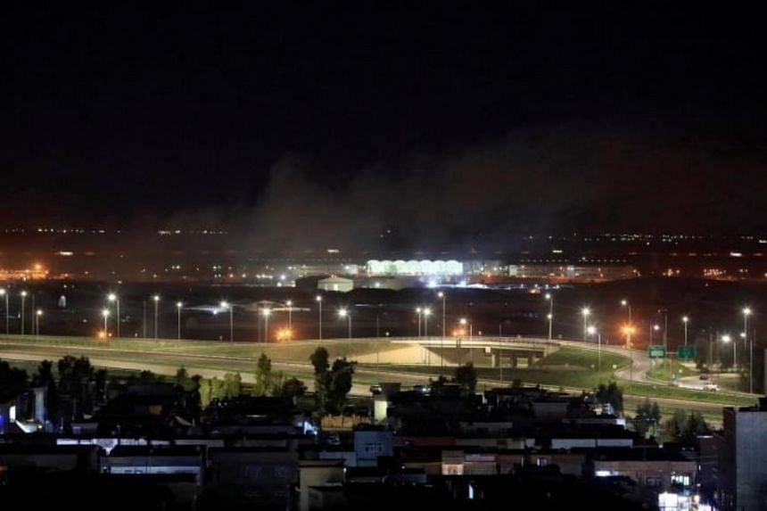 The airport, which is also the base for a coalition force of anti-Islamist troops, suffered no damage.
