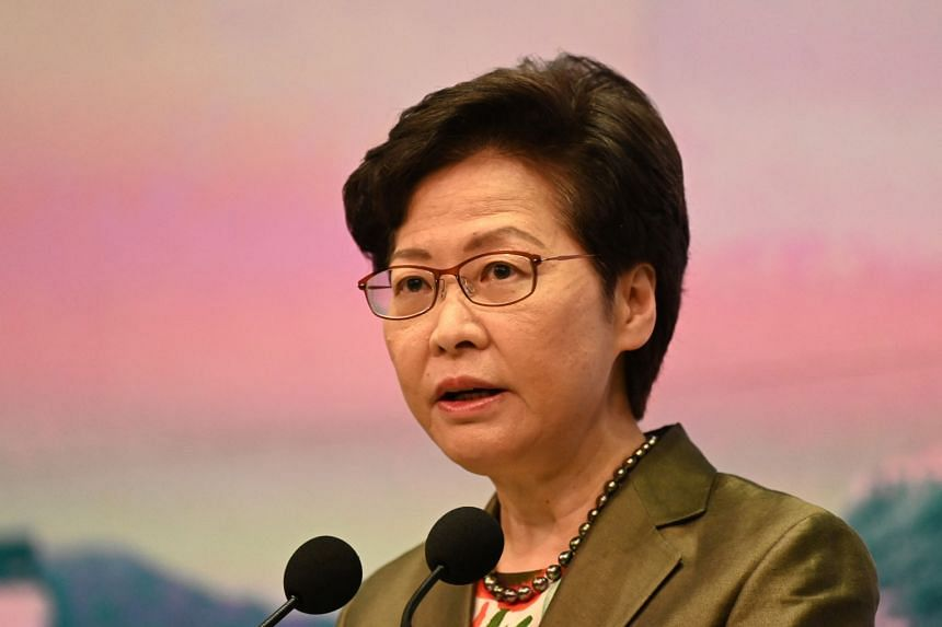Carrie Lam's term as chief executive is due to expire in mid-2022.