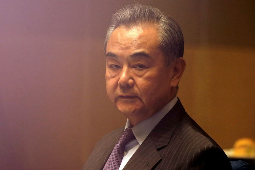 The visit is part of Mr Wang Yi's six-day trip to four countries in the region that started on Sept 10.