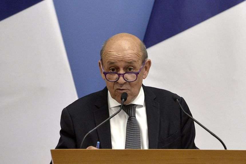 French Foreign Minister Jean-Yves Le Drian said there were still a few French nationals and a few hundred Afghans with ties to France remaining in Afghanistan.