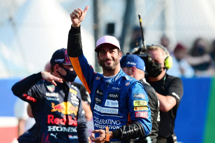 The victory was Daniel Ricciardo's first since he was at Red Bull in 2018.