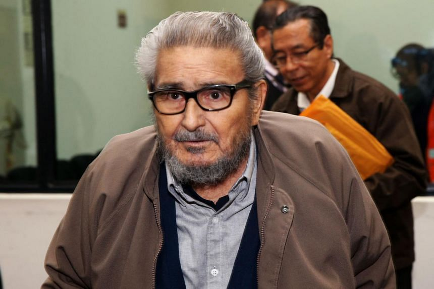 Abimael Guzman was serving a life sentence in a maximum security jail near Lima when he died.