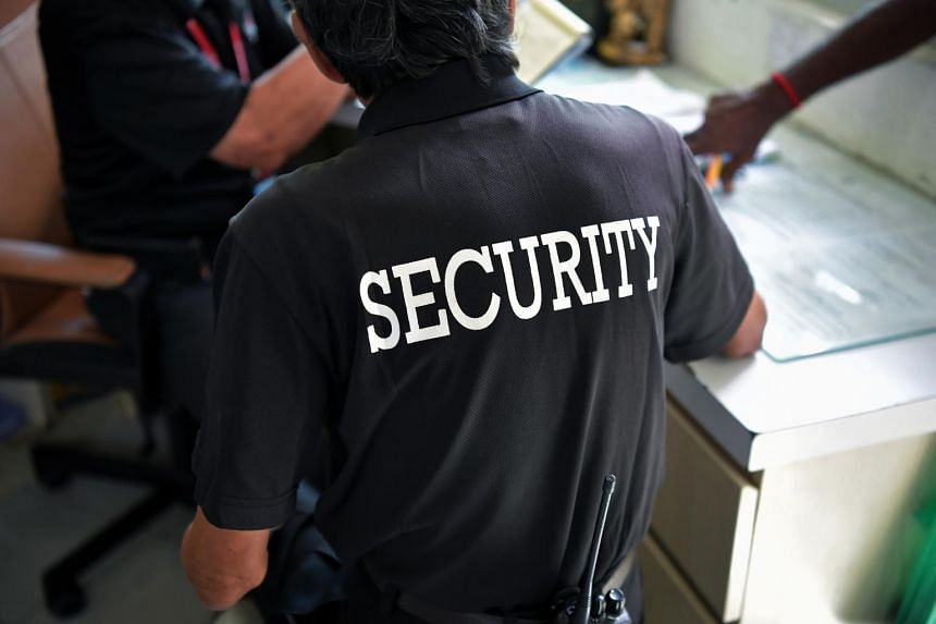 About 40 per cent of security officers had faced some form of abuse while working, according to a survey last year.