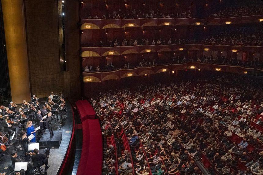The Metropolitan Opera's performance of Verdi's Requiem on Sept. 11, 2021.