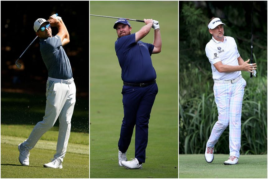 (From left) Sergio Garcia, Shane Lowry and Ian Poulter have been named as Europe's Ryder Cup wild cards.