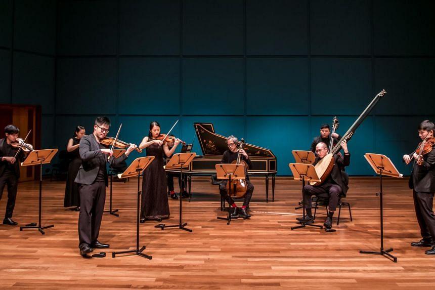 Vivaldi's Four Seasons by Red Dot Baroque.