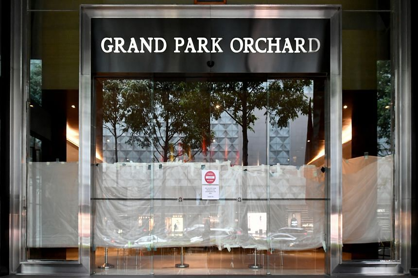"""The company """"chose to terminate its management of Grand Park Orchard"""" earlier this month."""