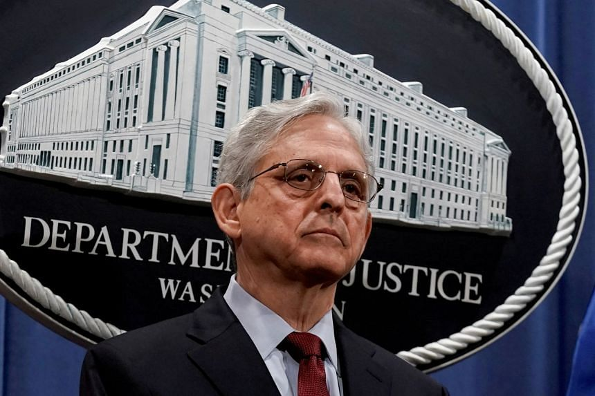 US Attorney-General Merrick Garland (above) said that building trust and confidence between law enforcement and the public was central to his department's mission.