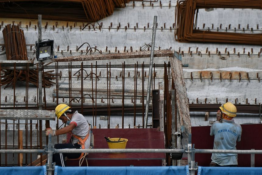 Sentiments in the construction sector remain downbeat, with sales, net profit and inventory stuck in the contractionary zone.