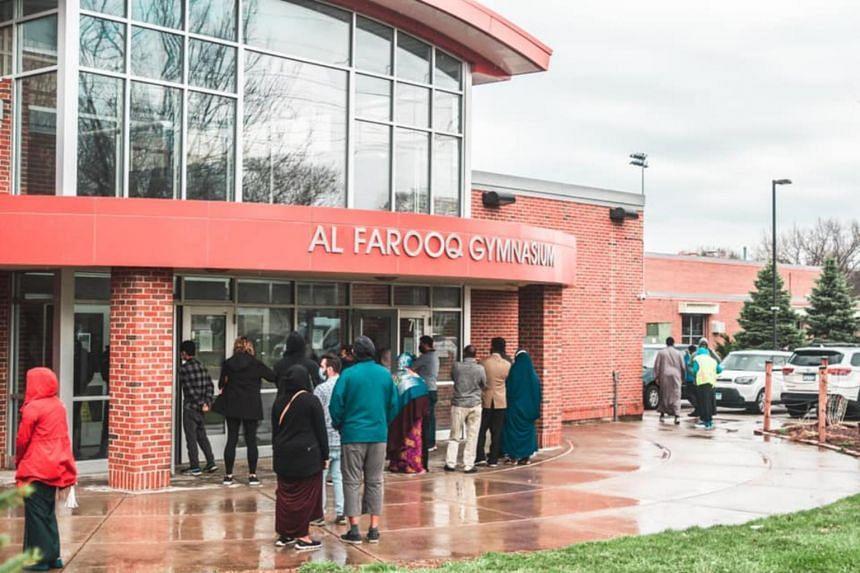 Dar al-Farooq Islamic Center in Bloomington, Minnesota on April 9, 2021.