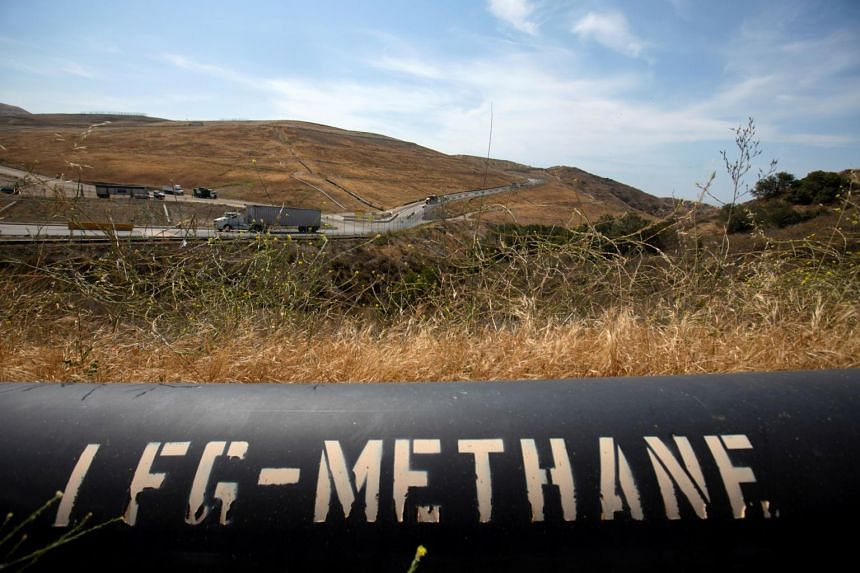 Methane is the biggest cause of climate change after carbon dioxide.