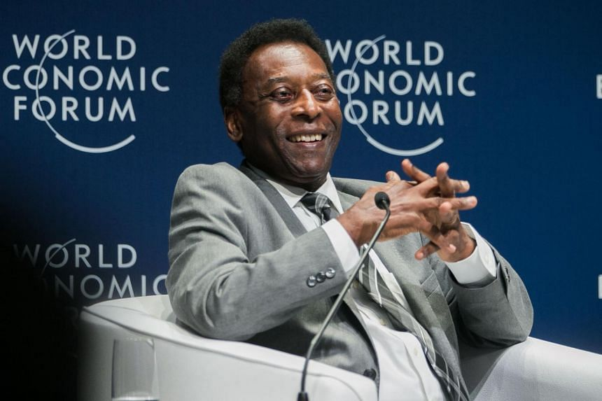 Brazilian football great Pele has been in a Sao Paulo hospital since doctors removed a tumour from his colon earlier this month.