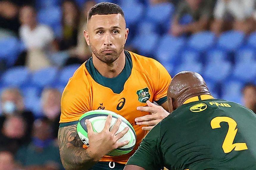 New Zealand-born Quade Cooper has been denied Australian citizenship four times.