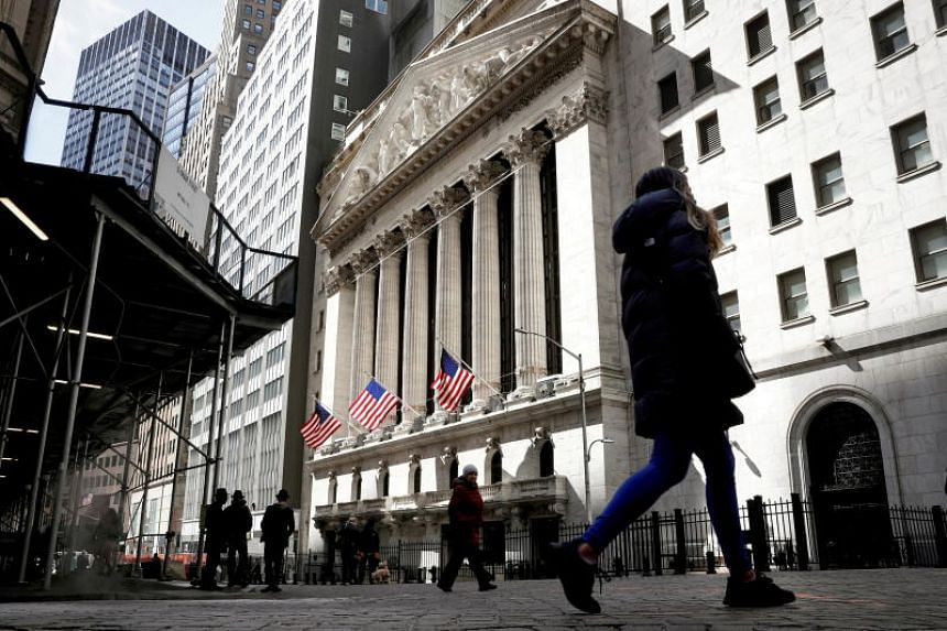 The Dow Jones Industrial Average snapped a five-day losing streak, gaining 0.8 per cent to close at 34,869.63.