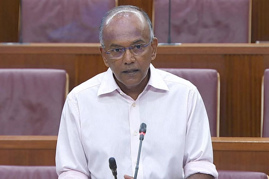 Law Minister K. Shanmugam said the statutory framework on the AG's intervention is based on the established role of the AG as the guardian of the public interest.
