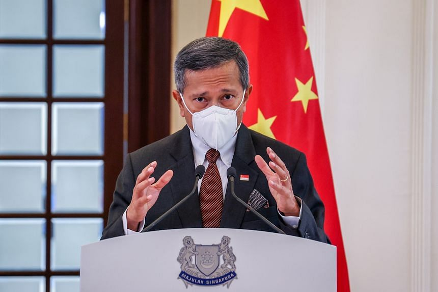 Dr Balakrishnan added that Singapore welcomed the recent phone call between Chinese President Xi Jinping and US President Joe Biden.
