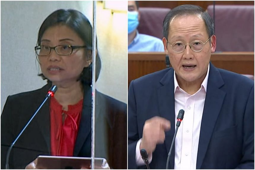 PSPs NCMP Hazel Poa called into dispute numbers provided by Manpower Minister Tan See Leng about job creation for locals.