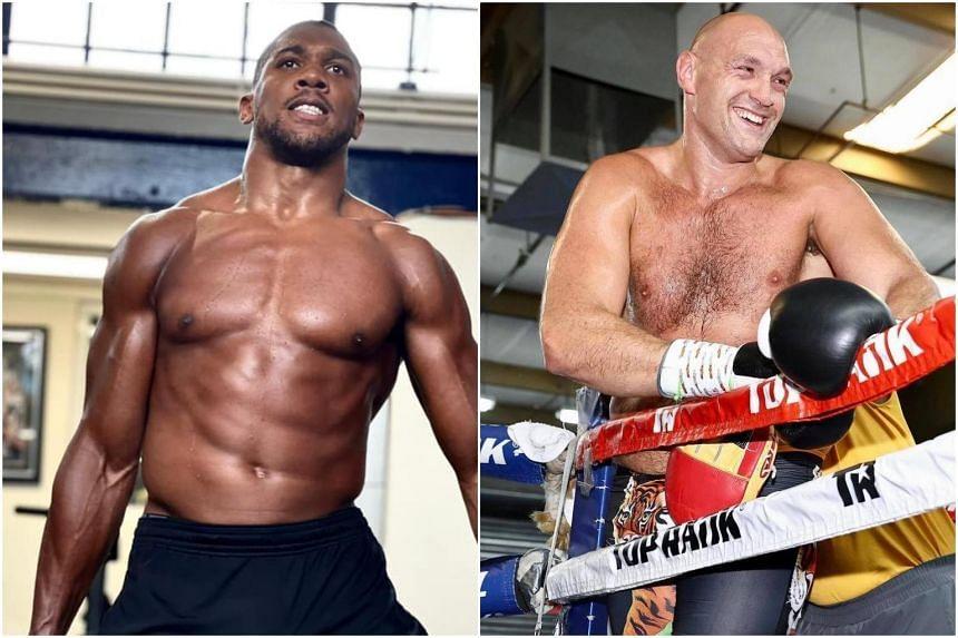 Anthony Joshua (left) has said he needs a fight against Tyson Fury.