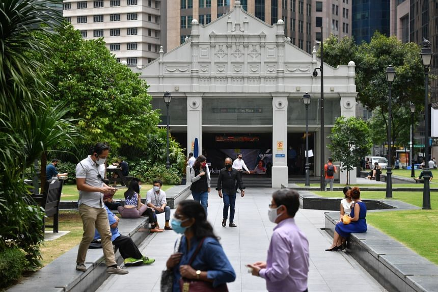 Singapore has been grooming its own finance and IT talent and creating more jobs for locals in those fast-growing sectors.
