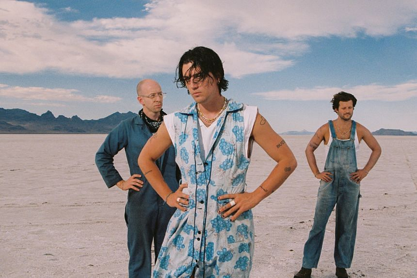 """(From left) Charles """"Les"""" Priest, Paul Klein and Jake Goss of American indie-pop band Lany."""