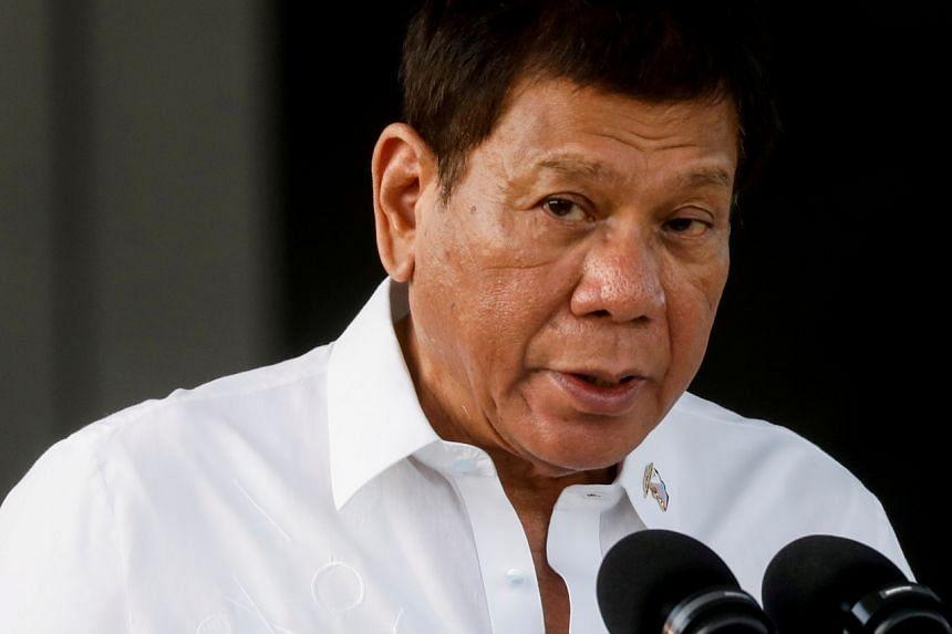 Philippine President Rodrigo Duterte has told senators to stop probing ongoing programmes.