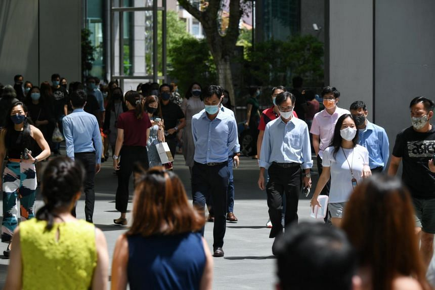 Singapore resident unemployment continued to ease in the first half of 2021, said the Ministry of Manpower on Sept 15.