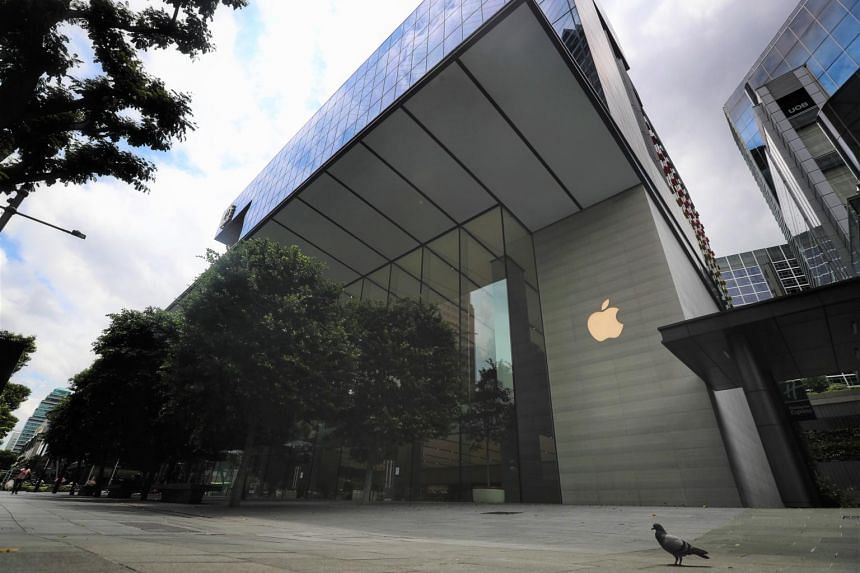 It is understood that more than 50 people were involved in the Apple store gathering.