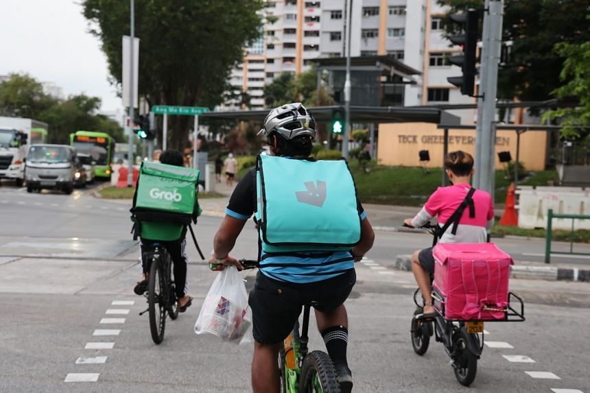 Workers for platforms such as foodpanda, Grab and Deliveroo have no employment contracts, and thus lack basic job protections.