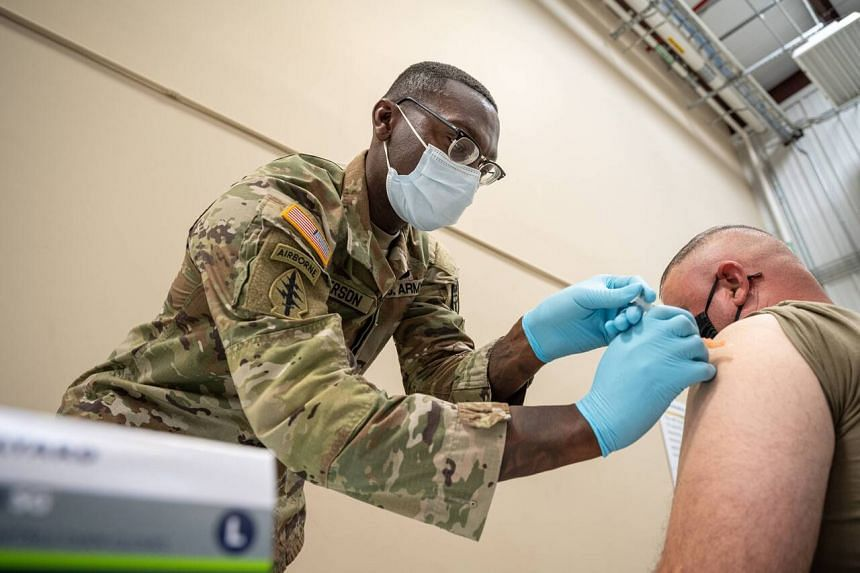 Since the Pentagon mandated coronavirus vaccinations last month, the percentage of all military service members with at least one shot has risen to 83 per cent.