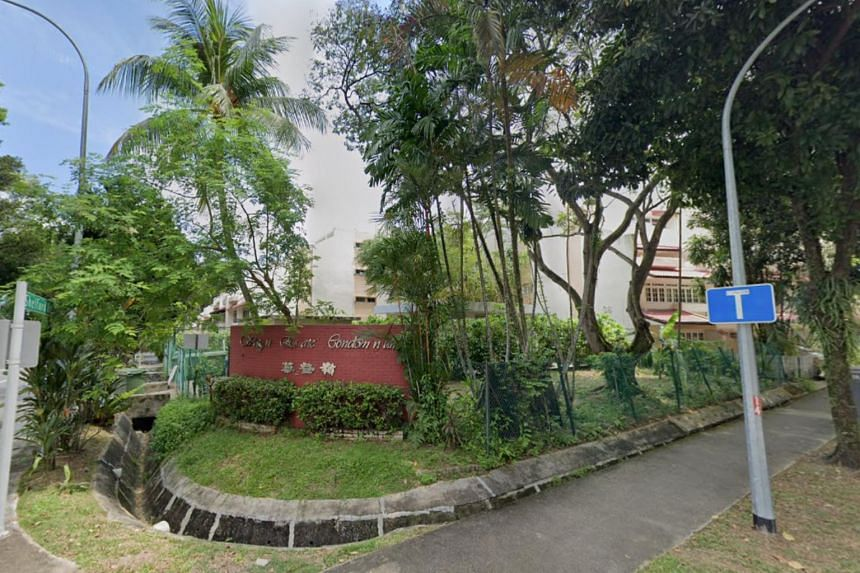 The property comprises 104 units of townhouses and apartments built around 1983.