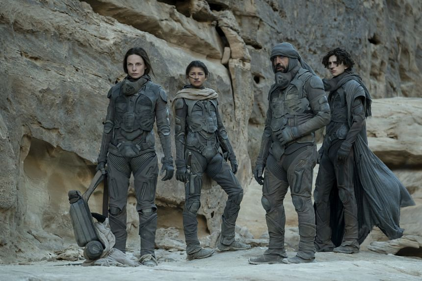 Dune is an adaptation of the 1965 Frank Herbert novel about feuding space clans.