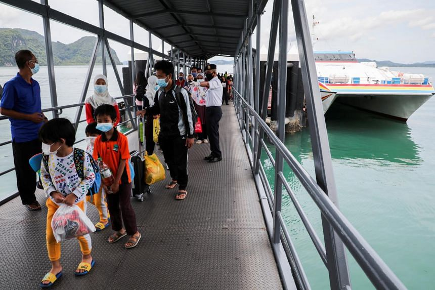 Langkawi reopened to domestic tourists in Malaysia on Sept 16, 2021.