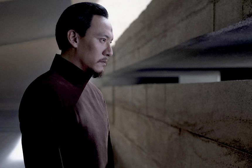 Taiwanese actor Chang Chen as Dr Wellington Yueh in Dune.