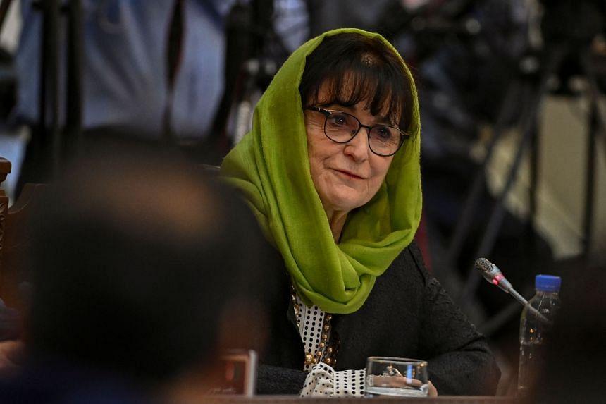 Ms Deborah Lyons is head of the UN mission in Afghanistan.