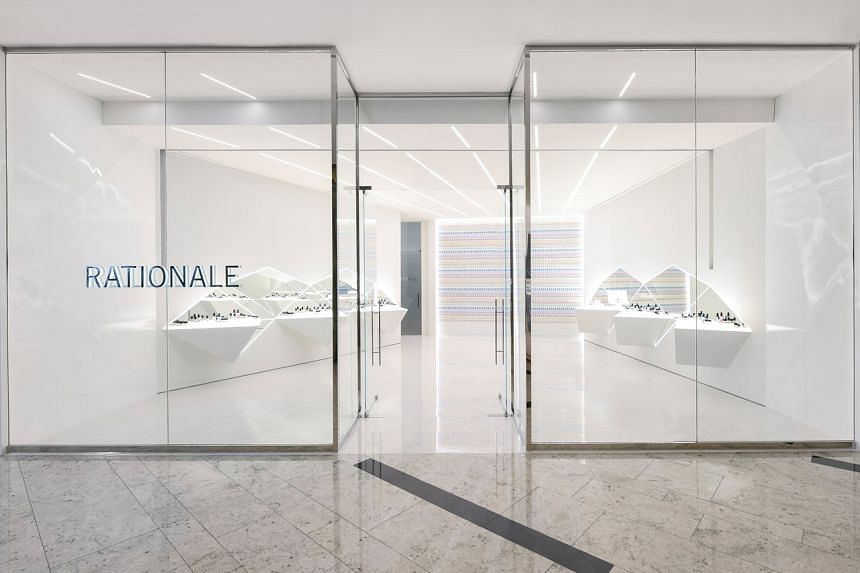 Rationale's treatment room at their flagship boutique in Raffles City.