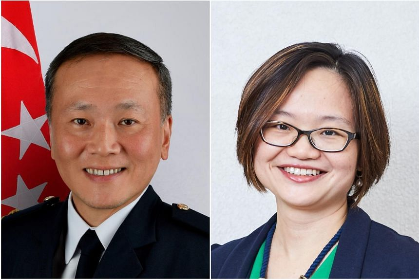 Mr Tan Chee Wee (left) will replace Ms Jamie Ang as CEO at the Early Childhood Development Agency from Dec 15.