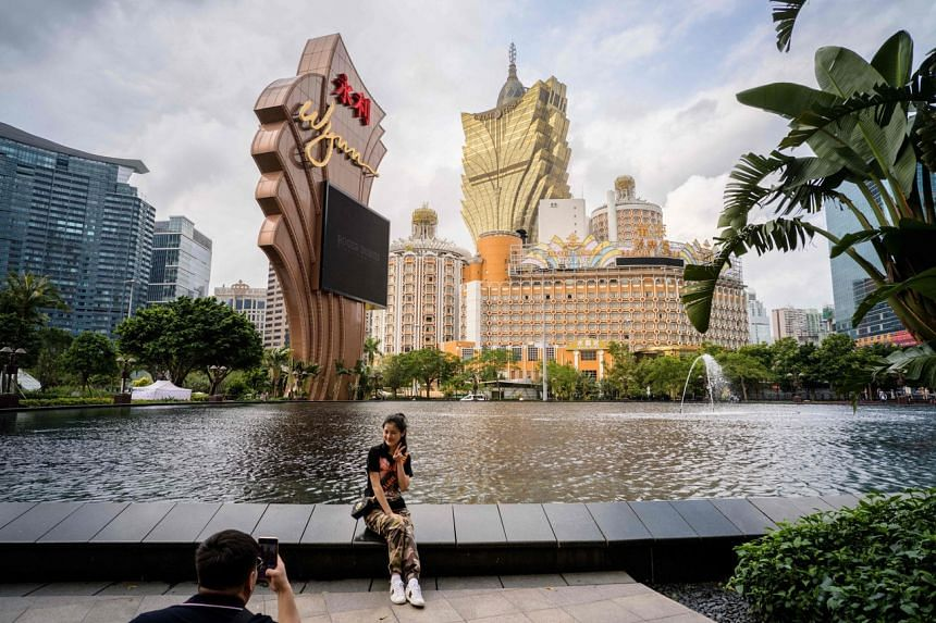 The pandemic saw Macau's gaming revenues plunge almost 80 per cent last year from 2019 to 60 billion patacas (S$10.5 billion).