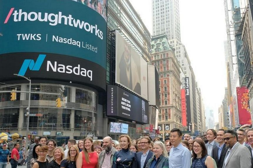 Thoughtworks shares are trading on the Nasdaq Global Select Market under the symbol TWKS.