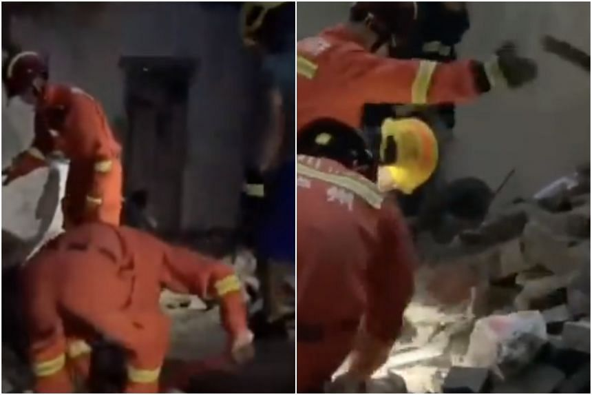 The Xinhua news agency said Luzhou City had sent emergency personnel to the area.