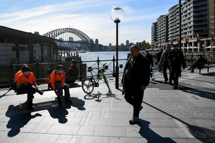 New South Wales and Victoria are home to more than half of Australia's 25 million population.