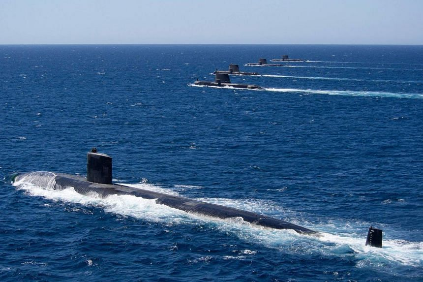 Australia currently has conventional submarines, which must surface periodically and have limited range.