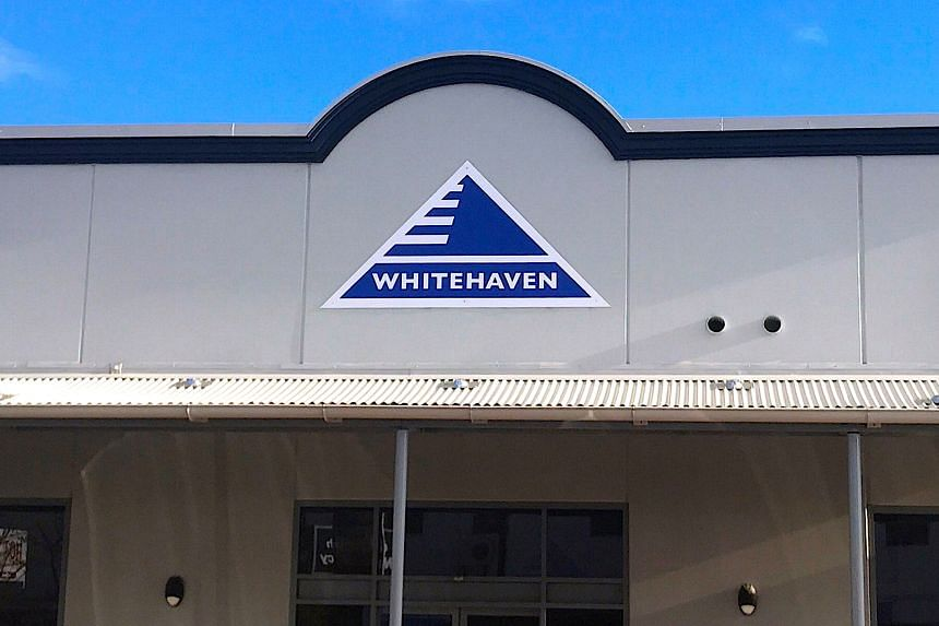 Whitehaven shares climbed on the news.