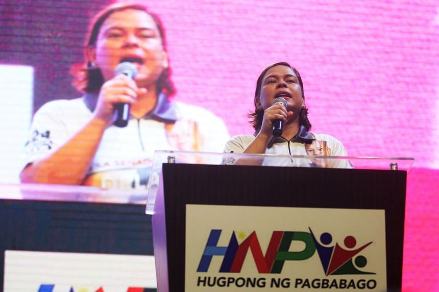 Ms Sara Duterte-Carpio has topped every opinion poll on preferred candidates for the presidency.