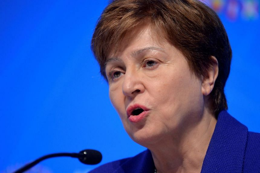 """Ms Kristalina Georgieva, now managing director of the IMF, said she disagreed """"fundamentally with the findings and interpretations"""" of the report and had briefed the IMF's executive board."""