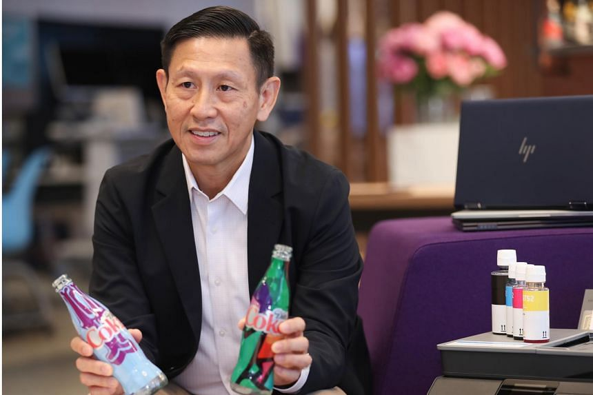 Mr Ng Tian Chong, managing director of greater Asia at HP, said that given the scale of HP's global operations, what the company does has a worldwide impact.