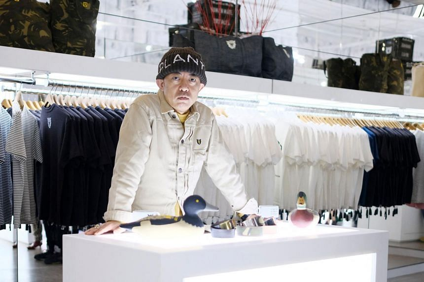 Nigo, shown at a 2016 store opening, said taking the design helm at Kenzo will be the greatest challenge of his 30-year career.